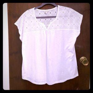 Sonoma short sleeve shirt, womens XL